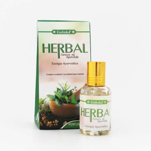Perfume Indiano Herbal  - Goloka - 10ml