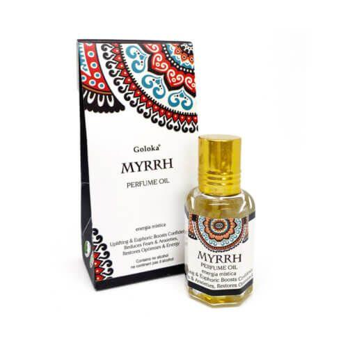 Perfume Indiano Mirra -  Goloka - 10ml