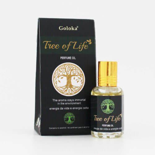 Perfume Indiano Tree of Life -  Goloka - 10ml