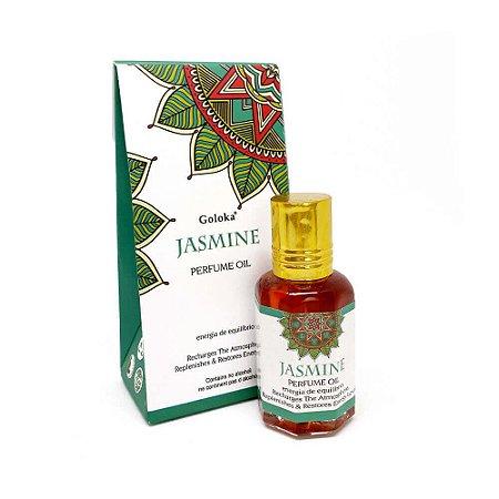 Perfume Indiano Jasmim -  Goloka - 10ml