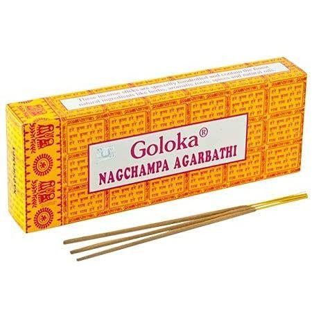 Incenso massala Indiano-Nagchampa Agarbathi- Energia de meditação.