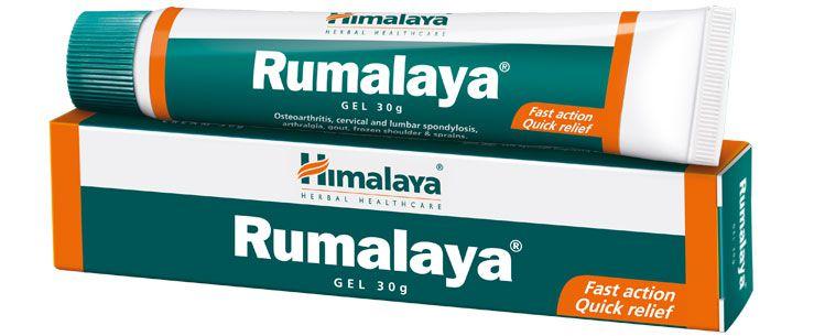 Gel Rumalaya 30g. Gel para todo tipo de dores  musculares  com extratos de ervas e óleos vegetais. Vegano