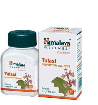 HIMALAYA- Encapsulado TULASI. Contem 60 caps 250 mg.