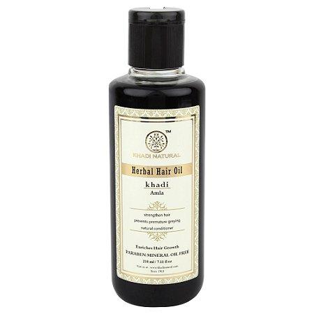 Óleo para cabelos com Amla 210 ml.  100% vegetal. Sem parabeno/Sem óleos minerais.