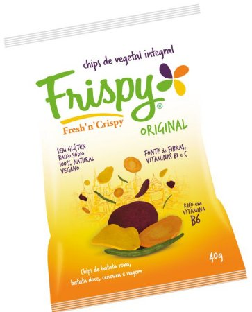 Chips Vegano mix- FRISPY 40g.