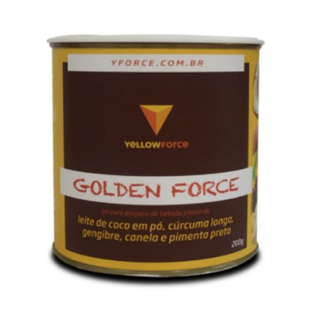 Golden Force- o leite dourado á base de plantas. 200g. VEGANO.