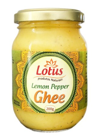 GHEE COM LEMON PEPPER 200G
