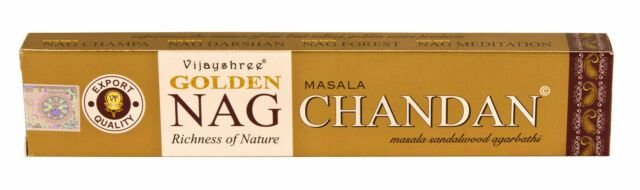 Incenso Nag Chandan Masala - Sandalo - 15 varetas