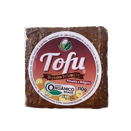 Tofu defumado orgânico - Pimenta e Orégano - 110G