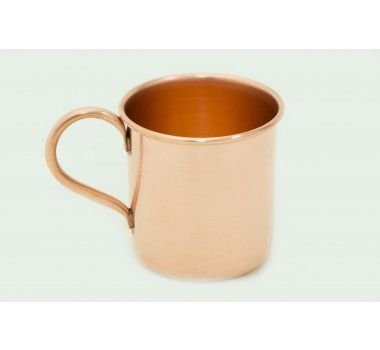 Caneca de cobre puro - 320 ml