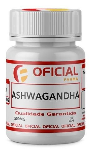 Ashwagandha 500mg  30 capsulas