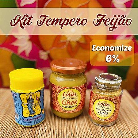 Kit Tempero Ayurvédico para Feijão - Sem Glúten