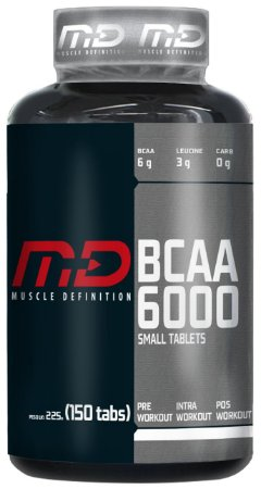 BCAA 6000 - 150 Tablets - Muscle Definition