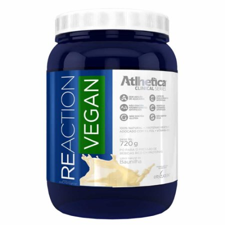 Reaction Vegan - 720G - Atlhetica Nutrition