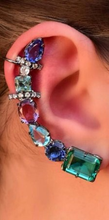 Ear Cuff - Multicolor