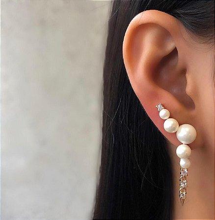 BRINCO PEROLA EAR CUFF