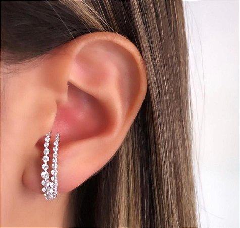 EAR HOOK PRATA 925