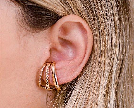 BRINCO EAR HOOK DOURADO