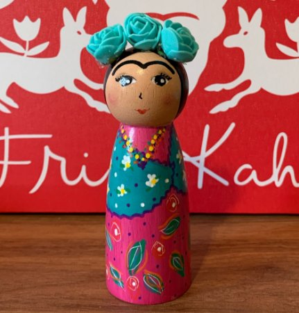 Boneca Frida Xale