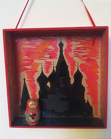 Quadro nicho boneca russa
