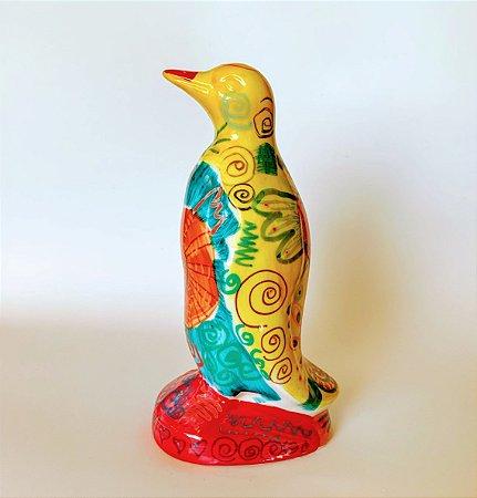 Pinguim Tatoo Yellow Grande