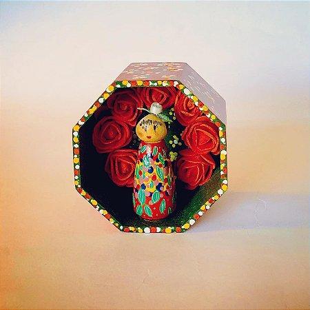 Caixinha mensageira Frida