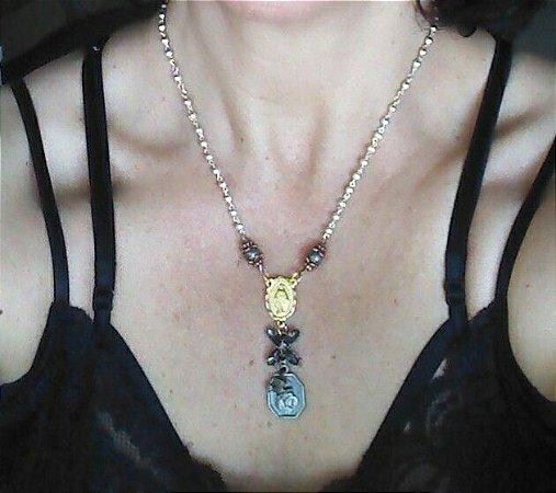 Coleção Carola - Colar Medalha Milagrosa
