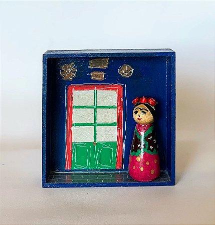 Nicho La Casa Azul de Frida Kahlo