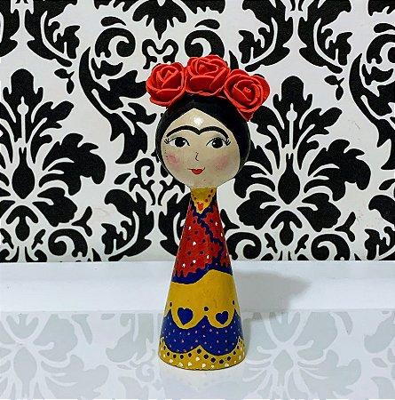 Boneca Frida Pé Palito