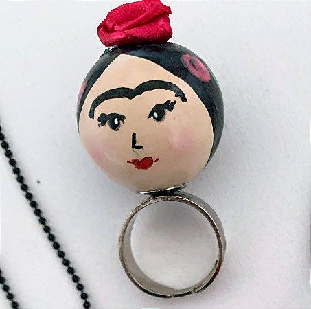 Anel Viva Frida!