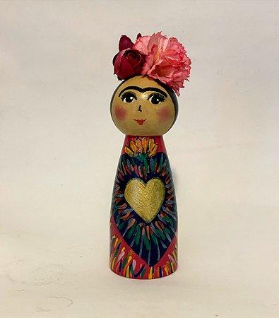 Boneca Frida Milagros Pink
