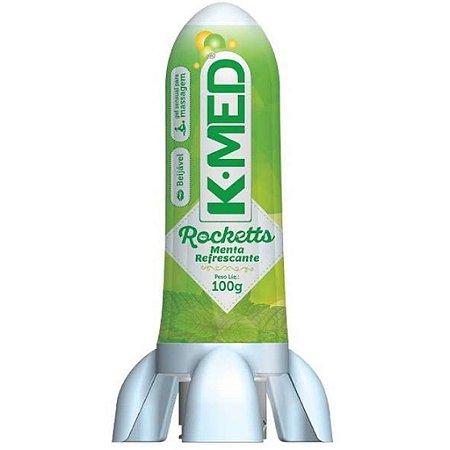 Rocketts Gel sensual para massagem Beijavel K_Med  - menta refrescante.