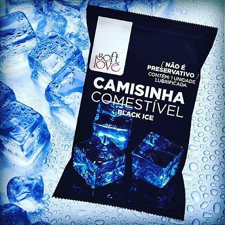 Camisinha Comestível Black Ice