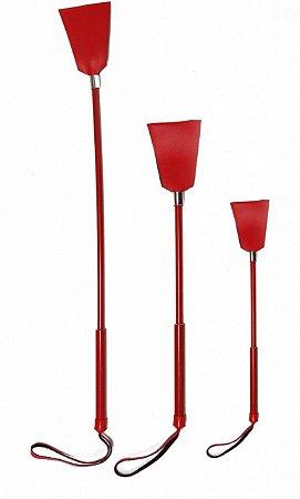 Chibata triangulo 40cm vermelha