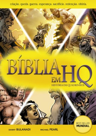 Bíblia em HQ (Brochura) - grátis 1 DVD avulso