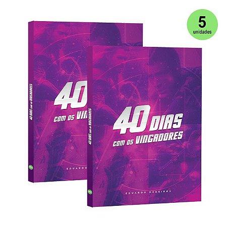 Atacado: 40 Dias com os Vingadores (5 unidades)
