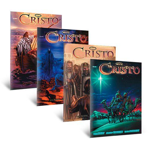 MEGA COMBO HQs - 22 Revistas em Quadrinhos Bíblicos e de Ficção Cristã