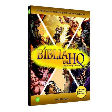 Bíblia em HQ (Capa Dura com 1 DVD)
