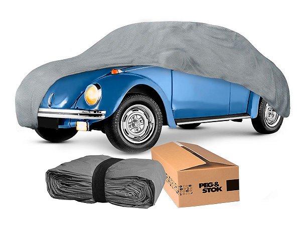 Capa Cobrir Carro Standard 100 % Forrada com Cadeado - P