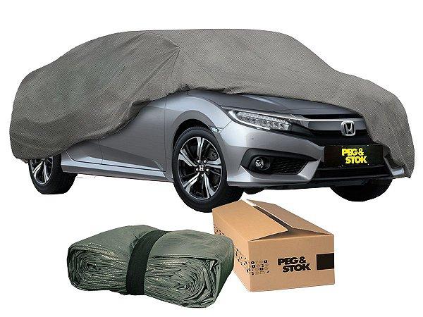 Capa Cobrir Carro Standard 100 % Forrada com Cadeado - G