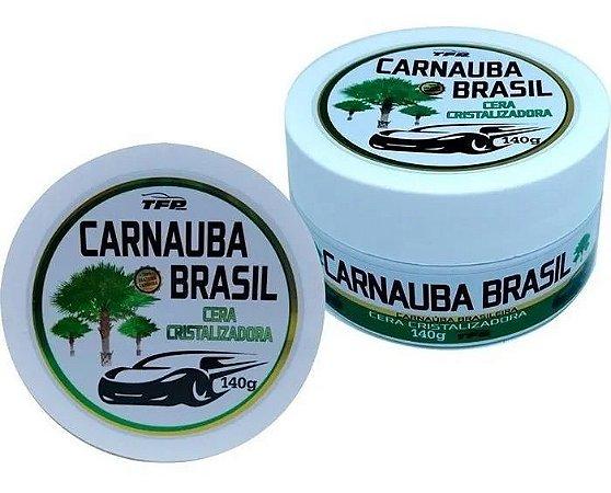 Cera Cristalizadora Automotiva Carnaúba Brasil Incolor - 140g