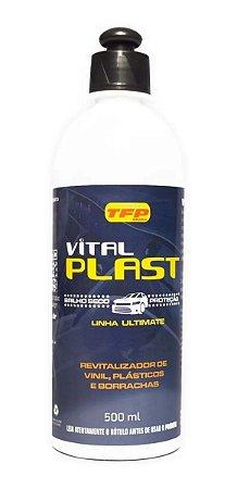 Renovador De Vinil Plástico Borracha Vital Plast - 500ml + Brinde