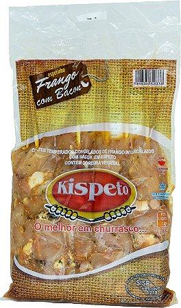 Espeto Frango com Bacon - 10 espetos (Congelado)