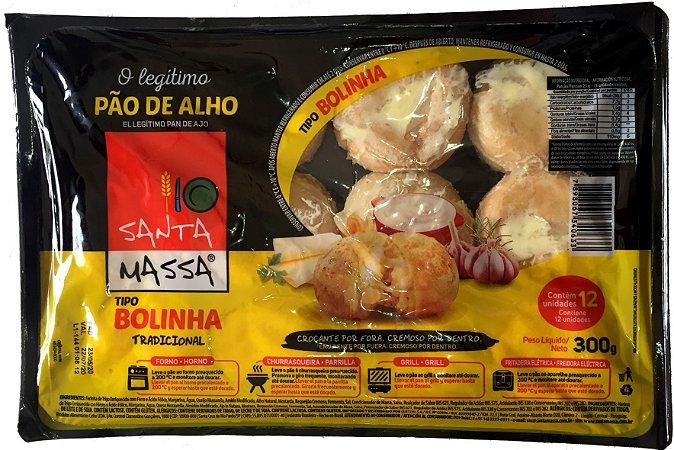 Pão de Alho Santa Massa Bolinha - 300 g