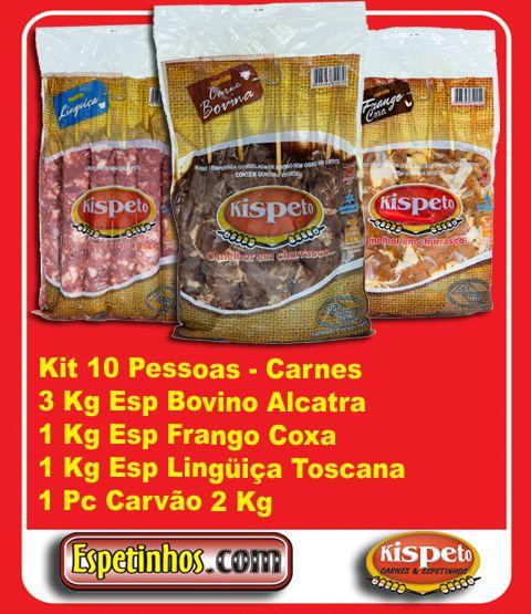 Kit Churrasco 10 Convidados