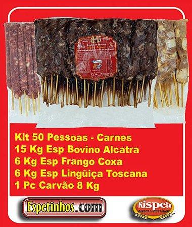 Kit Churrasco 50 Convidados