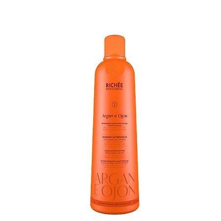 Shampoo anti resíduo Argan Ojon Richée Professional 1L