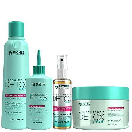 Kit Richée Professional Detox Tratamento completo 4 itens