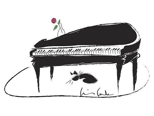 Piano e Gatinho