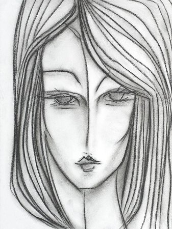 Face em Preto e Branco